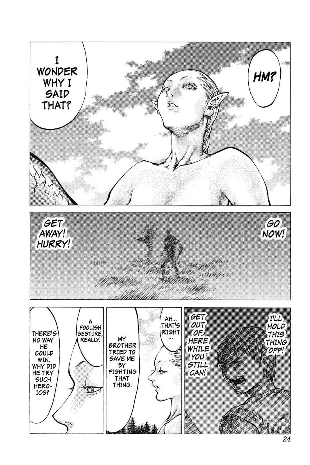 Claymore Chapter 40 Page 23