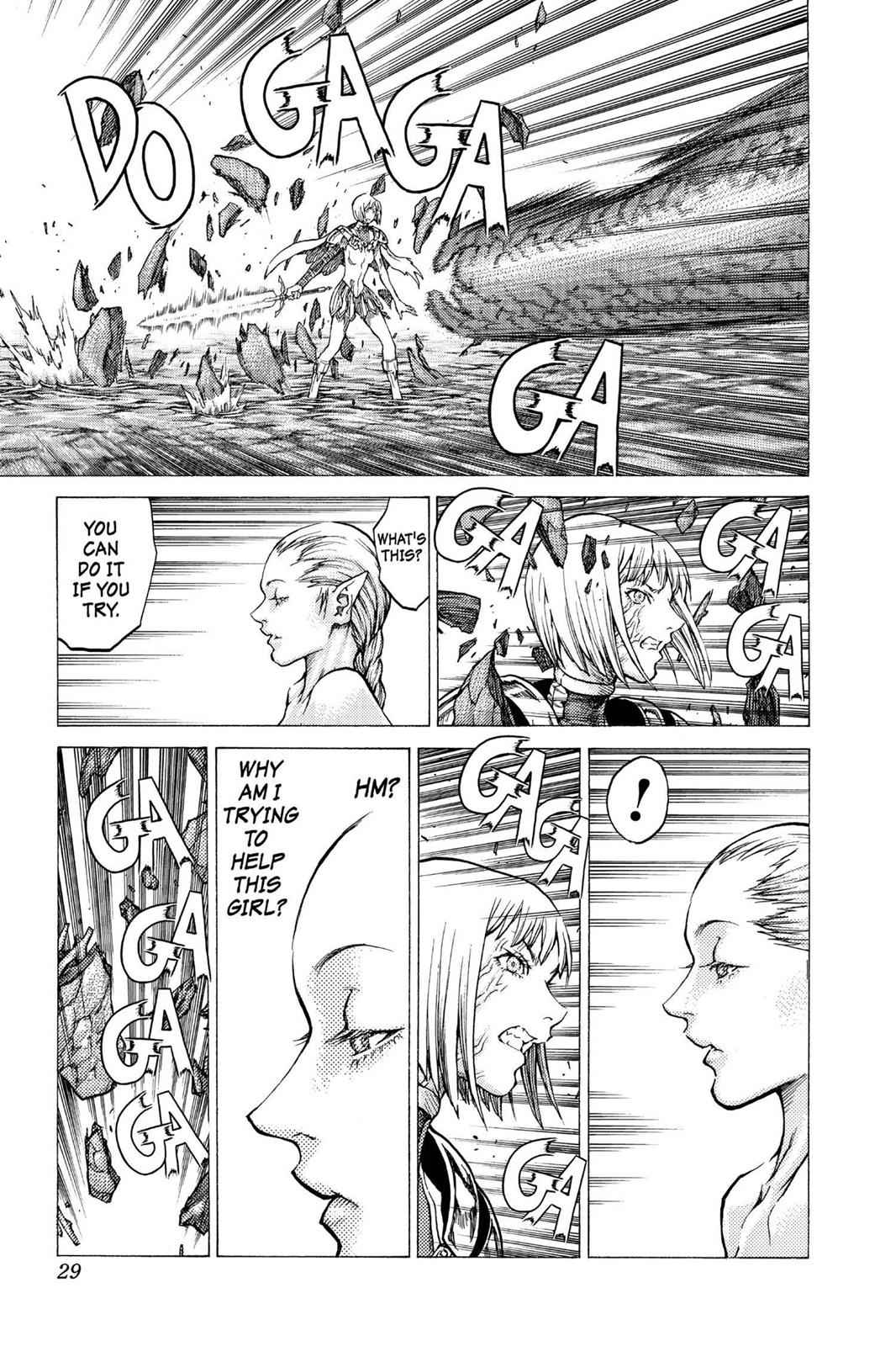 Claymore Chapter 40 Page 28