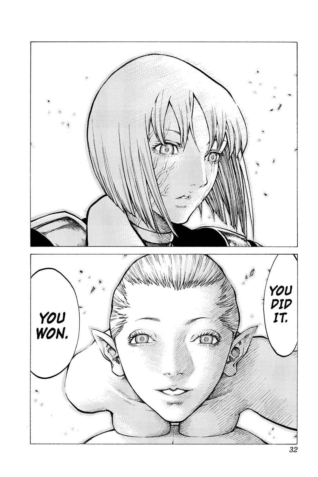 Claymore Chapter 40 Page 30