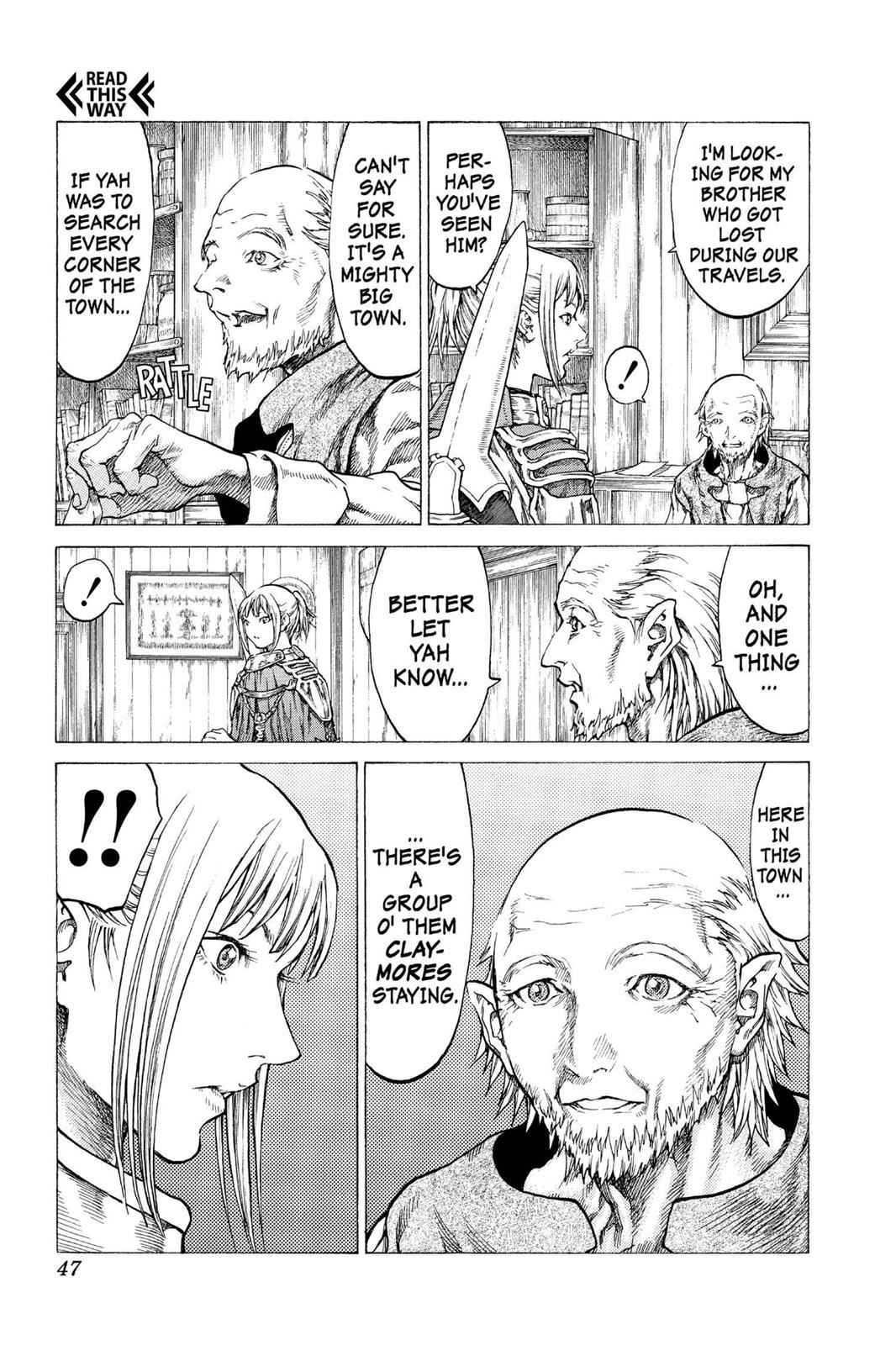 Claymore Chapter 41 Page 10