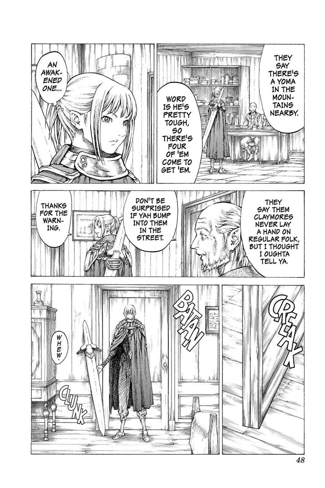 Claymore Chapter 41 Page 11