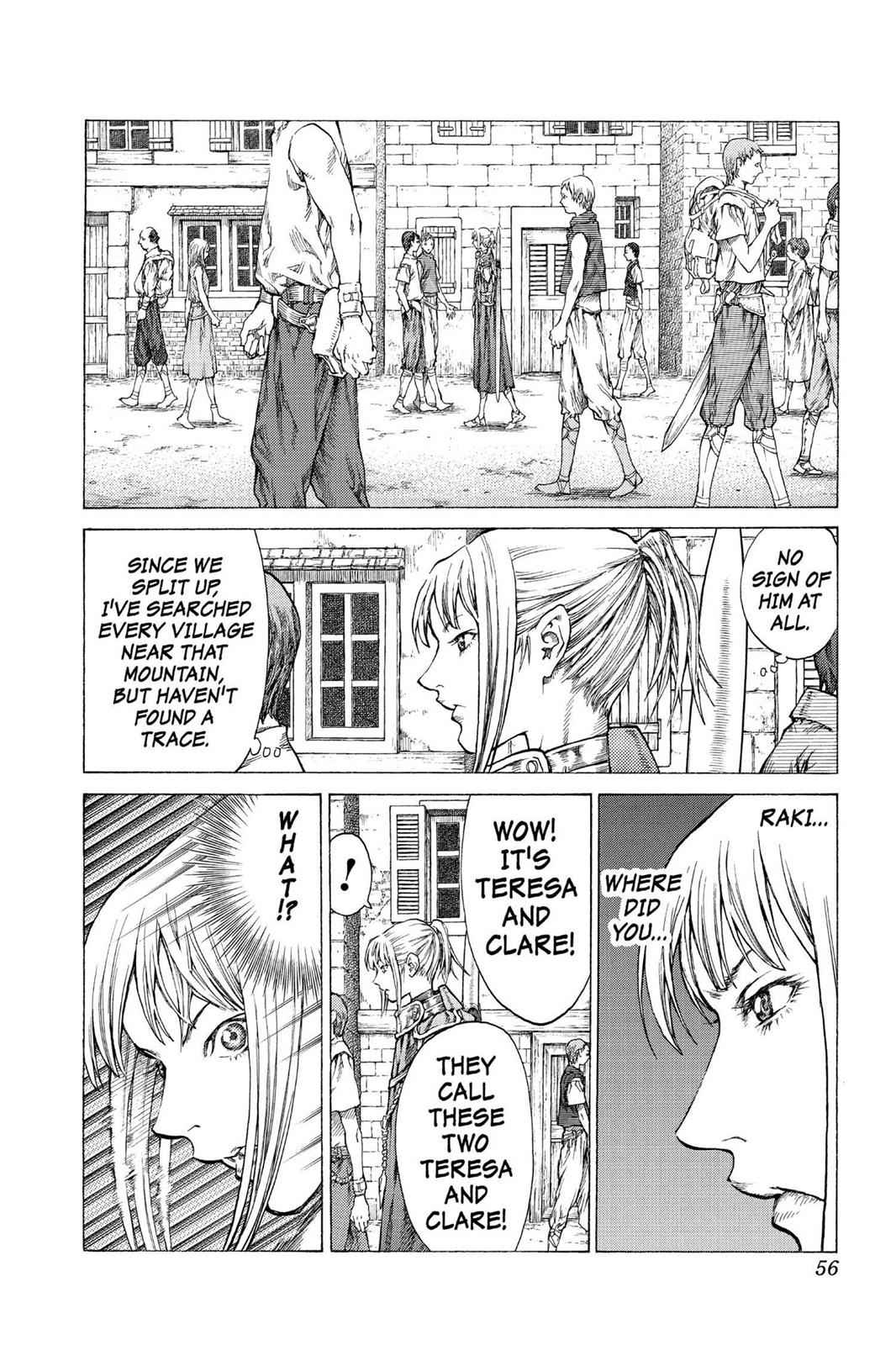 Claymore Chapter 41 Page 19