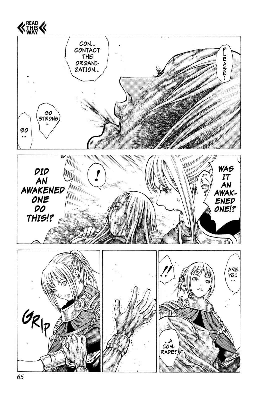 Claymore Chapter 41 Page 28