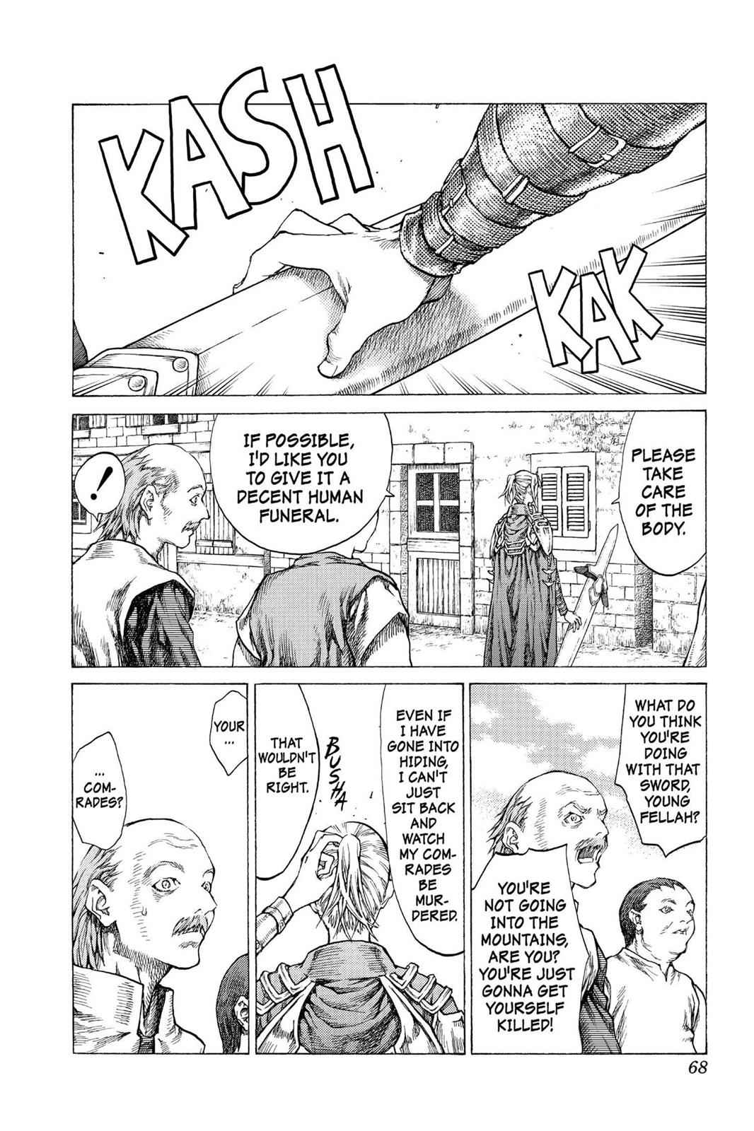 Claymore Chapter 41 Page 31