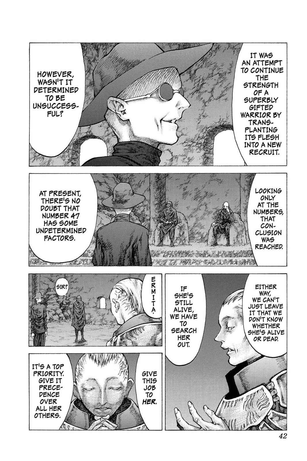 Claymore Chapter 41 Page 5