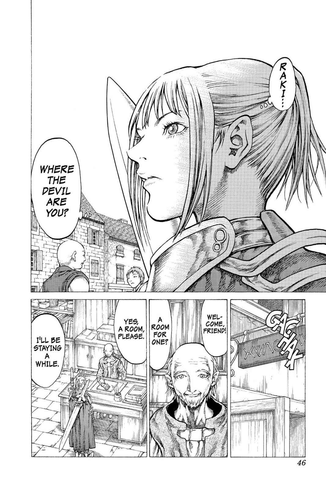 Claymore Chapter 41 Page 9