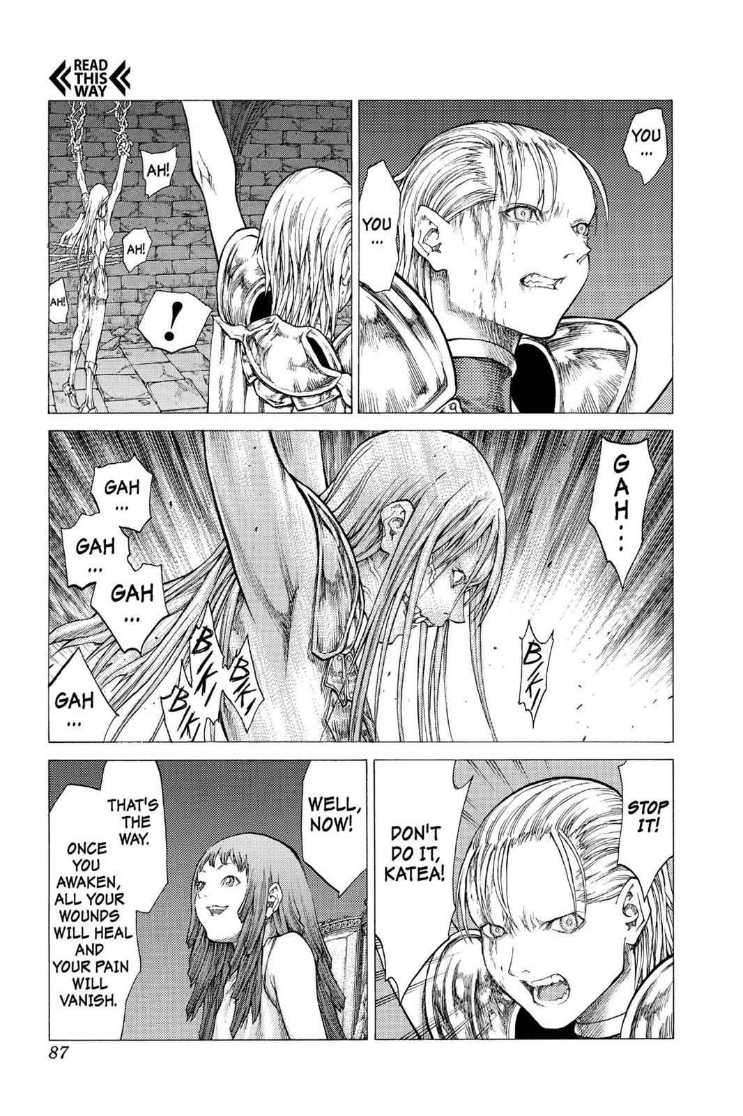 Claymore Chapter 42 Page 15