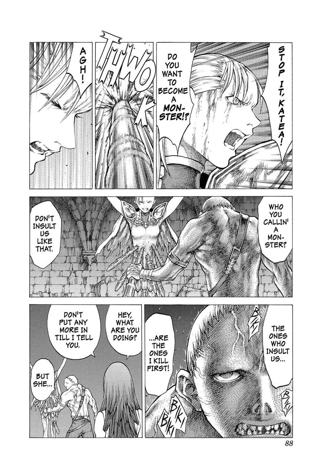 Claymore Chapter 42 Page 16