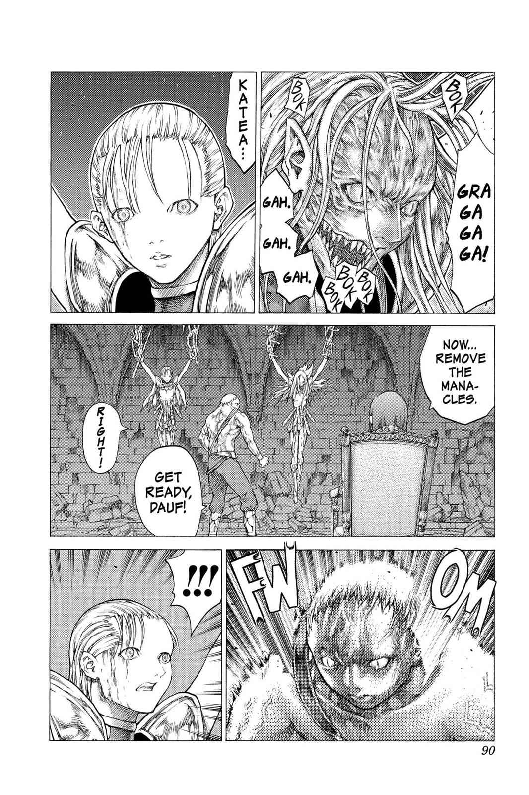 Claymore Chapter 42 Page 18
