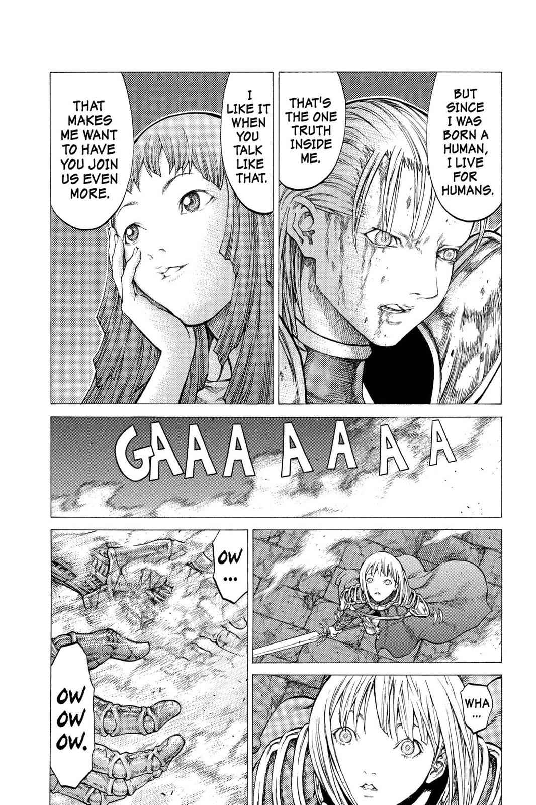 Claymore Chapter 43 Page 22