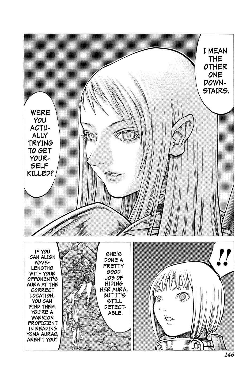 Claymore Chapter 44 Page 12