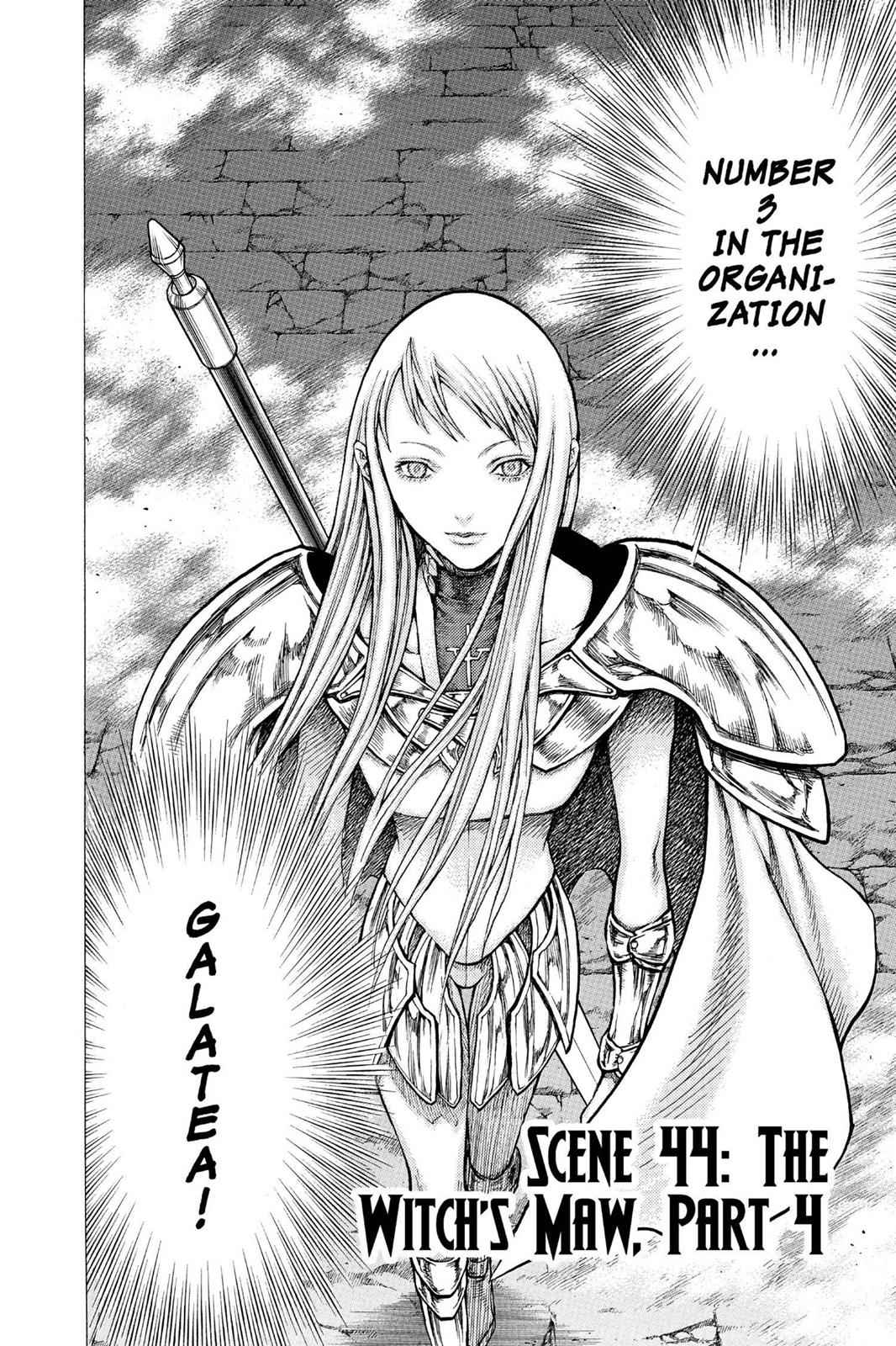 Claymore Chapter 44 Page 2