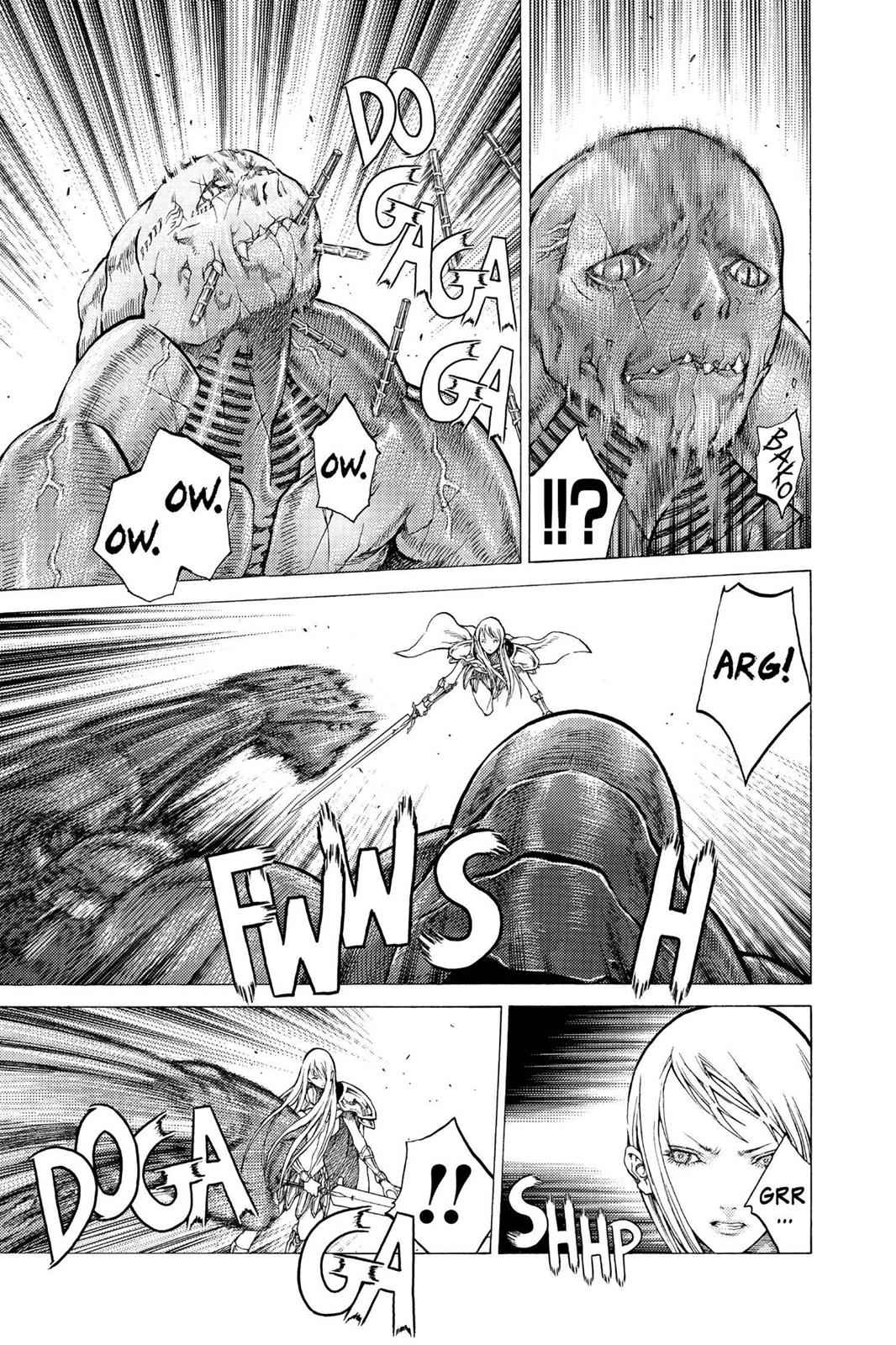 Claymore Chapter 45 Page 11