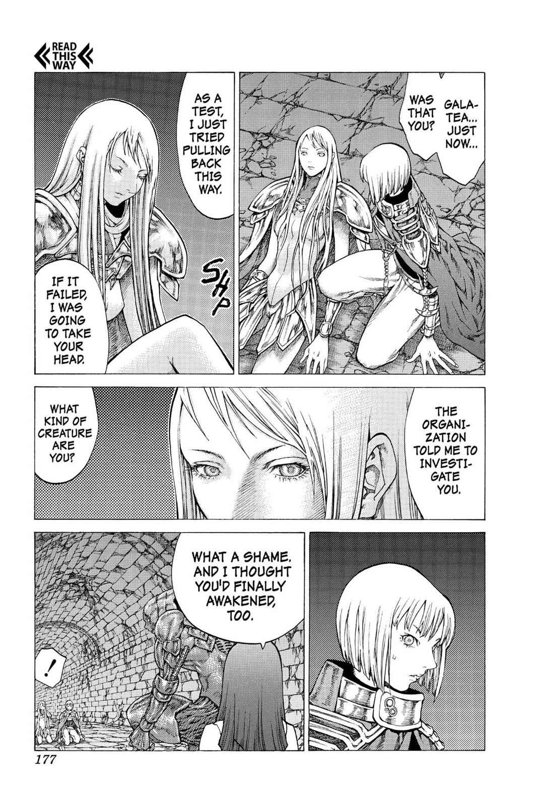 Claymore Chapter 45 Page 19