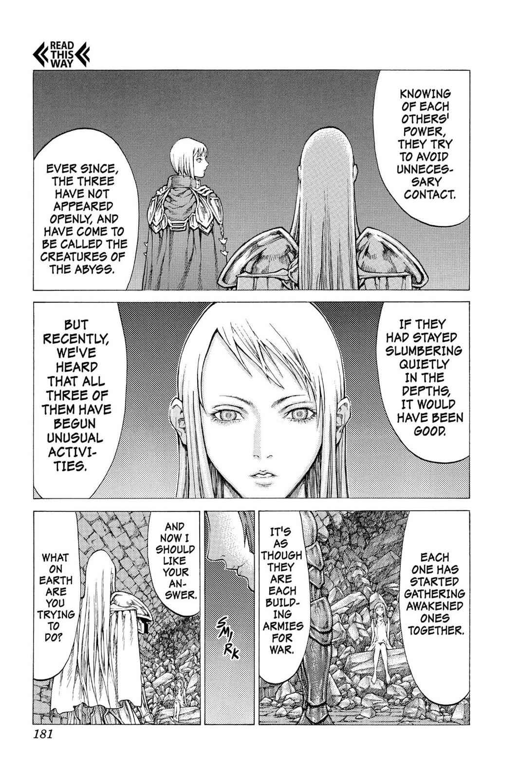 Claymore Chapter 45 Page 23