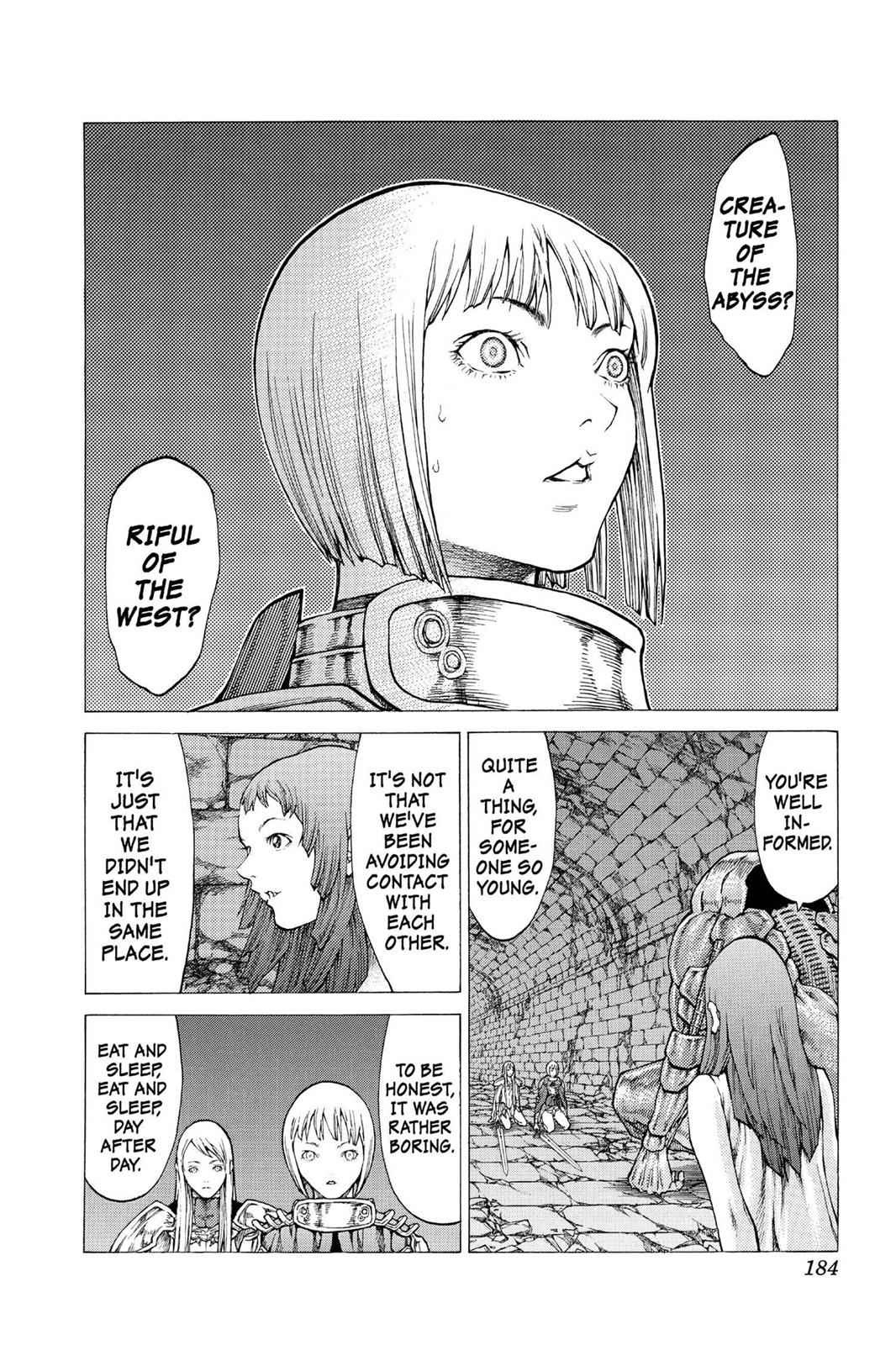 Claymore Chapter 45 Page 26