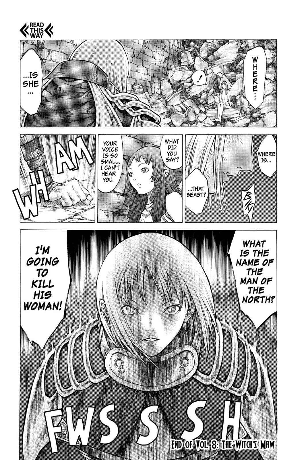 Claymore Chapter 45 Page 31