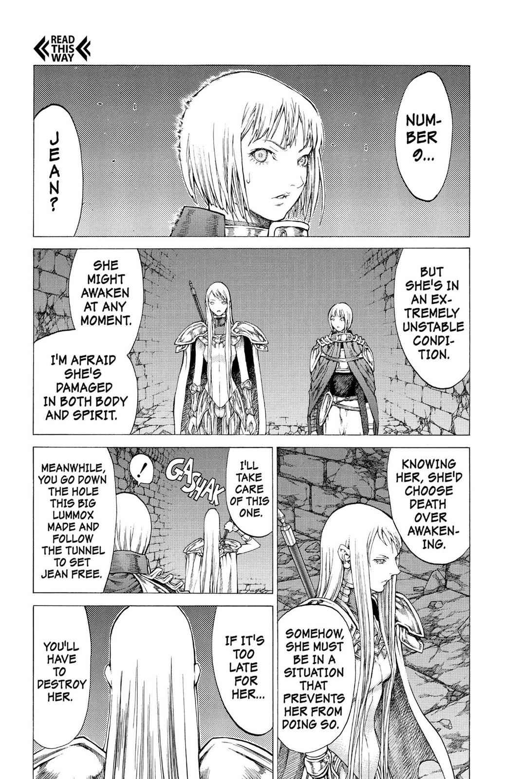 Claymore Chapter 46 Page 21