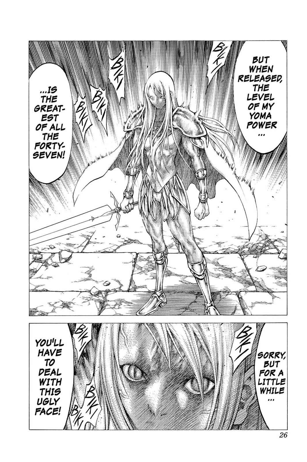 Claymore Chapter 46 Page 26