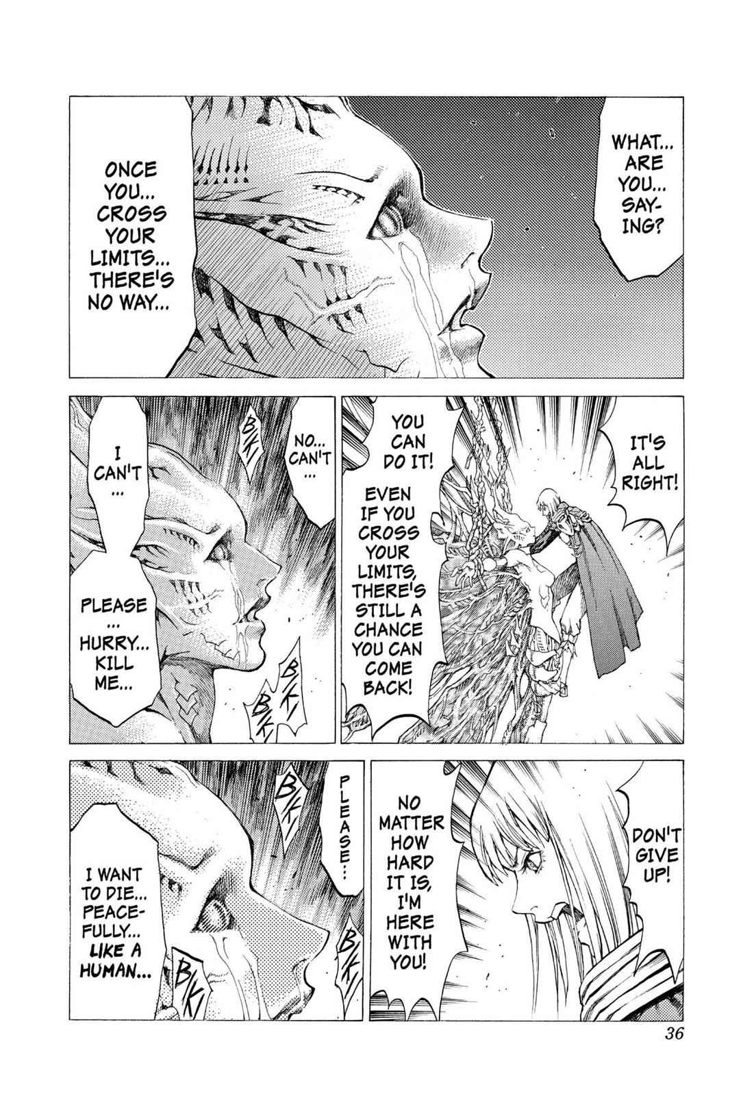 Claymore Chapter 46 Page 35