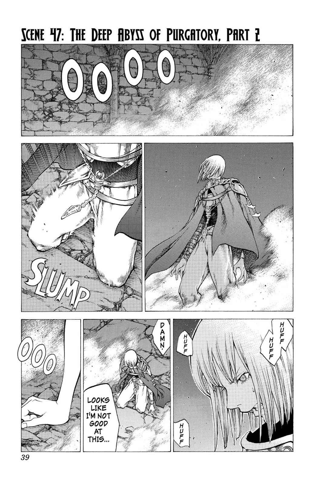 Claymore Chapter 47 Page 1