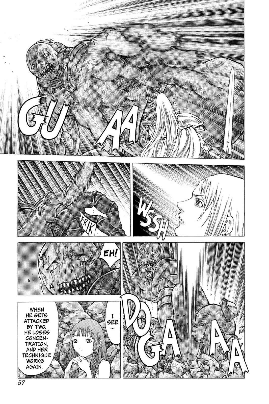 Claymore Chapter 47 Page 18