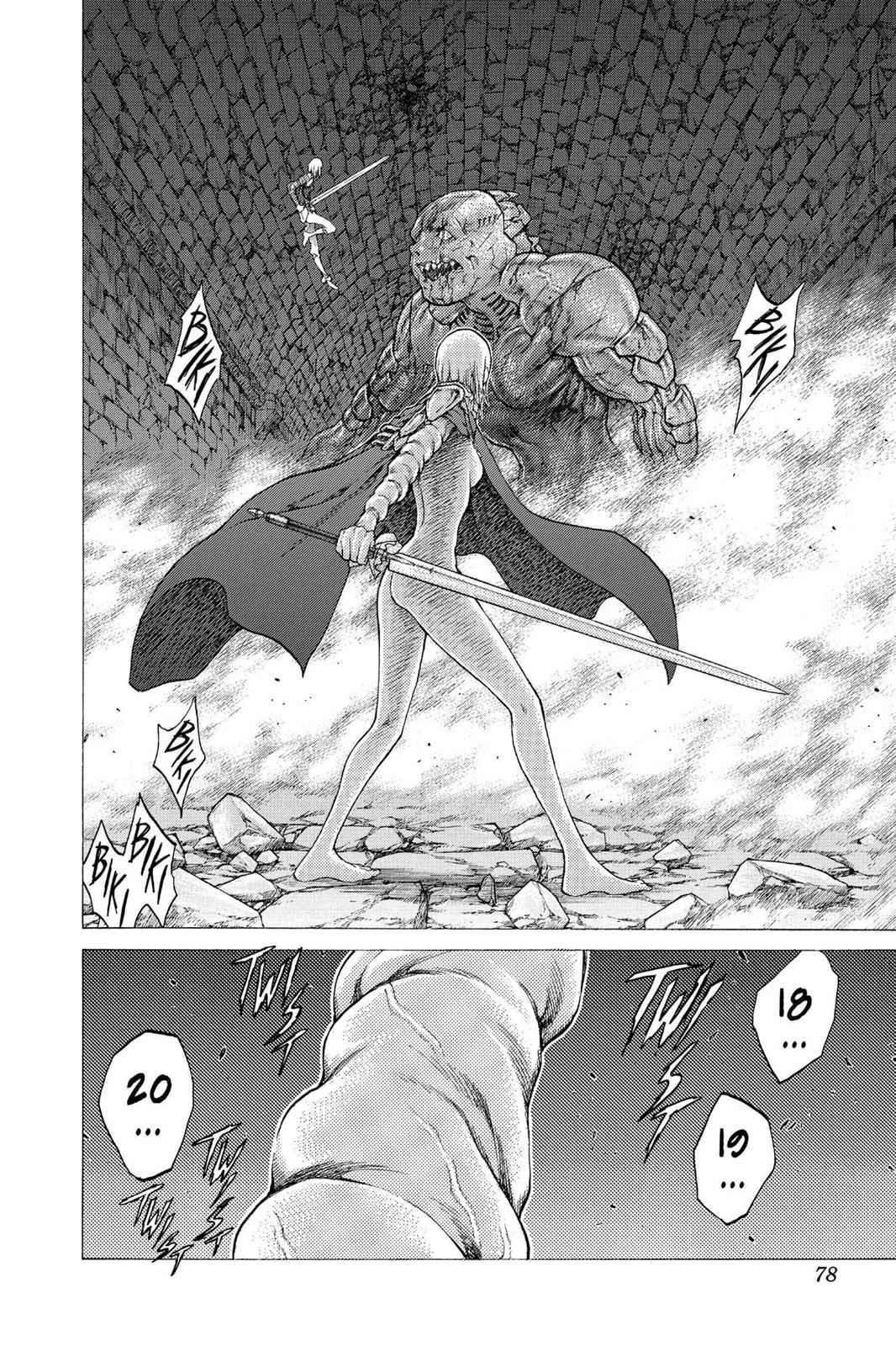 Claymore Chapter 48 Page 8