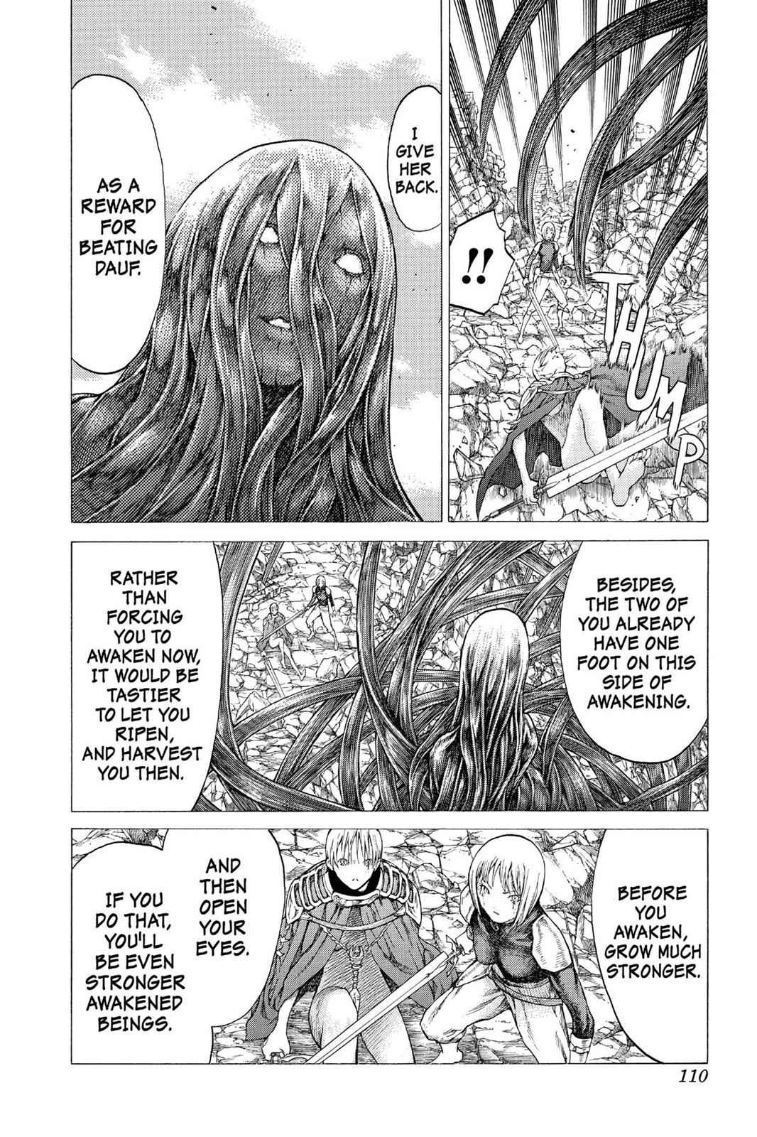 Claymore Chapter 49 Page 14