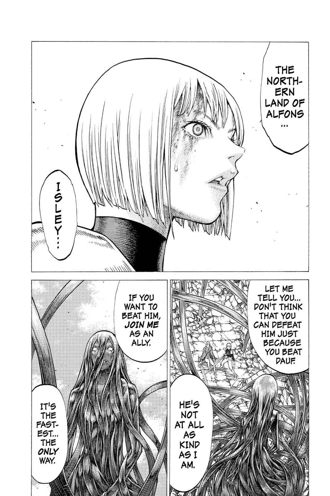 Claymore Chapter 49 Page 17