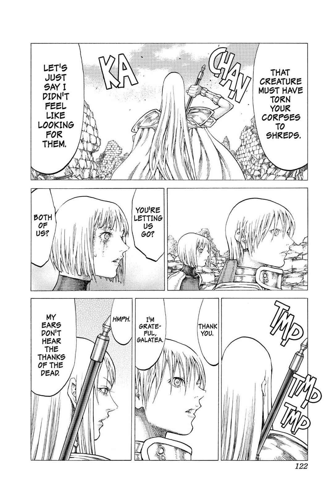 Claymore Chapter 49 Page 25