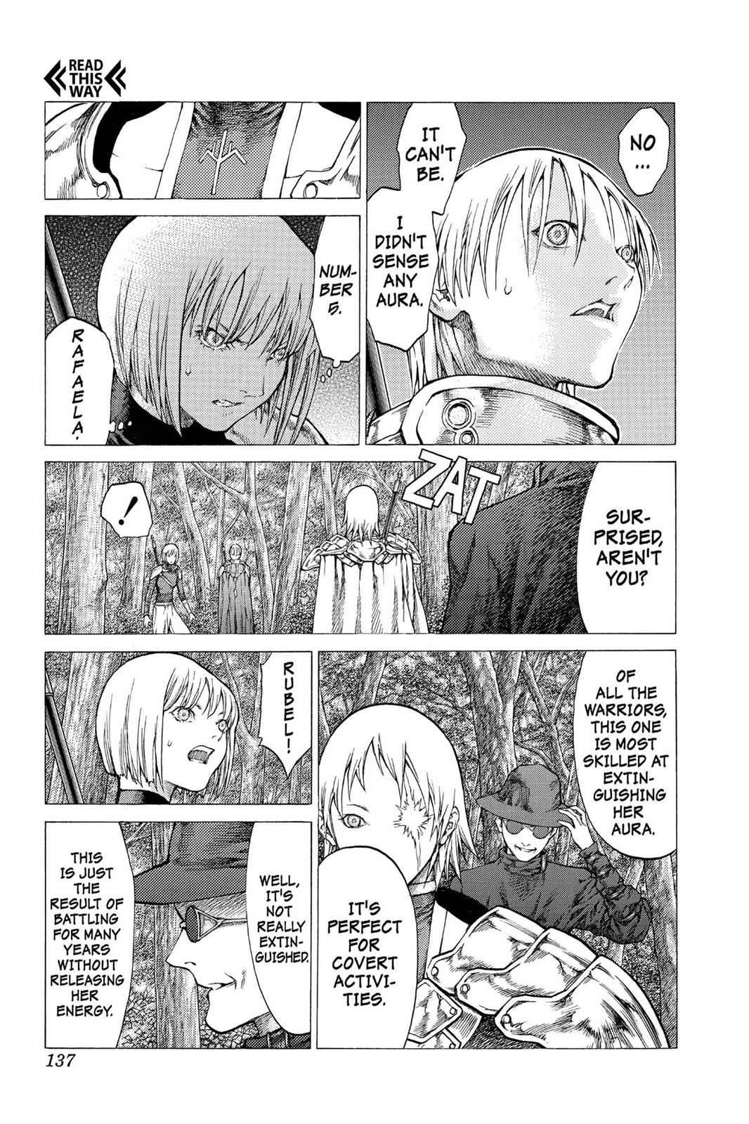Claymore Chapter 50 Page 10