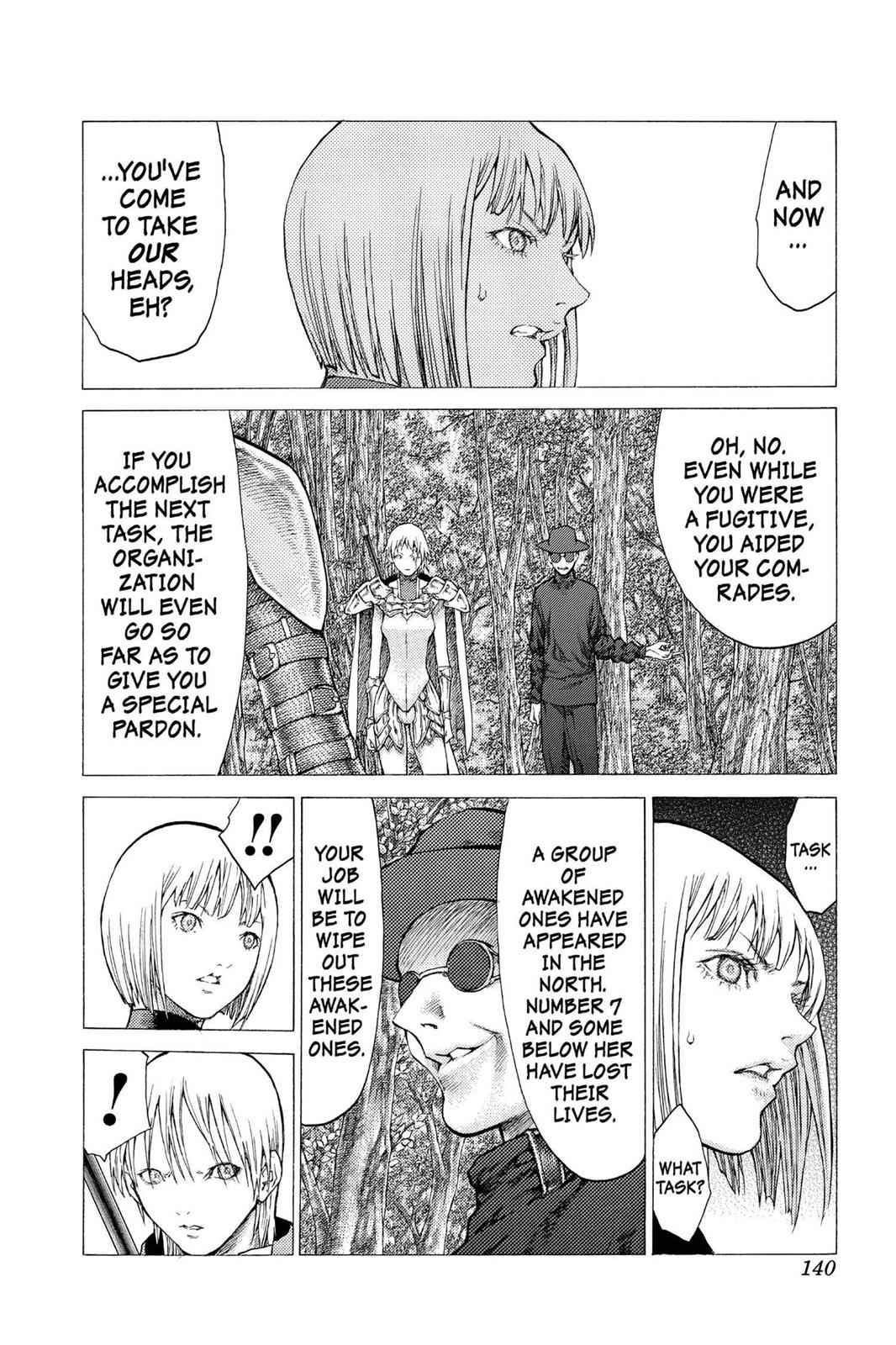 Claymore Chapter 50 Page 13