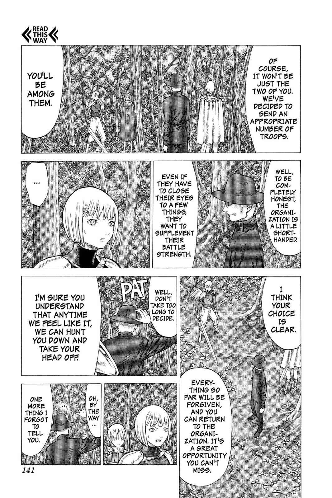 Claymore Chapter 50 Page 14