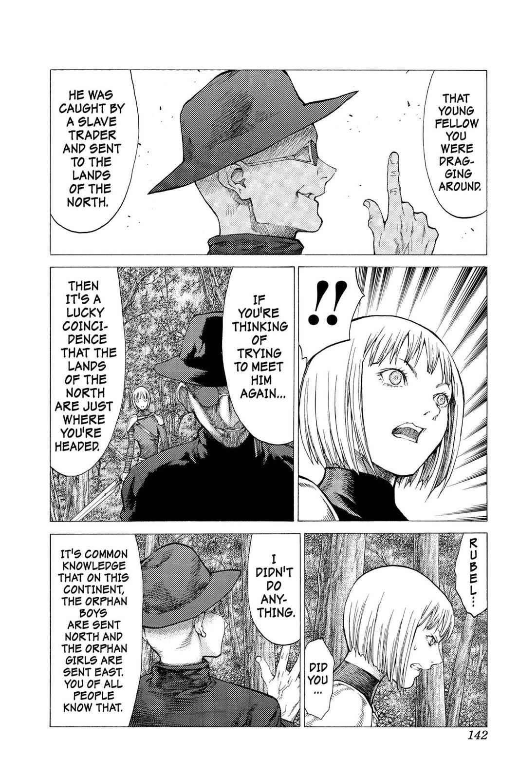 Claymore Chapter 50 Page 15