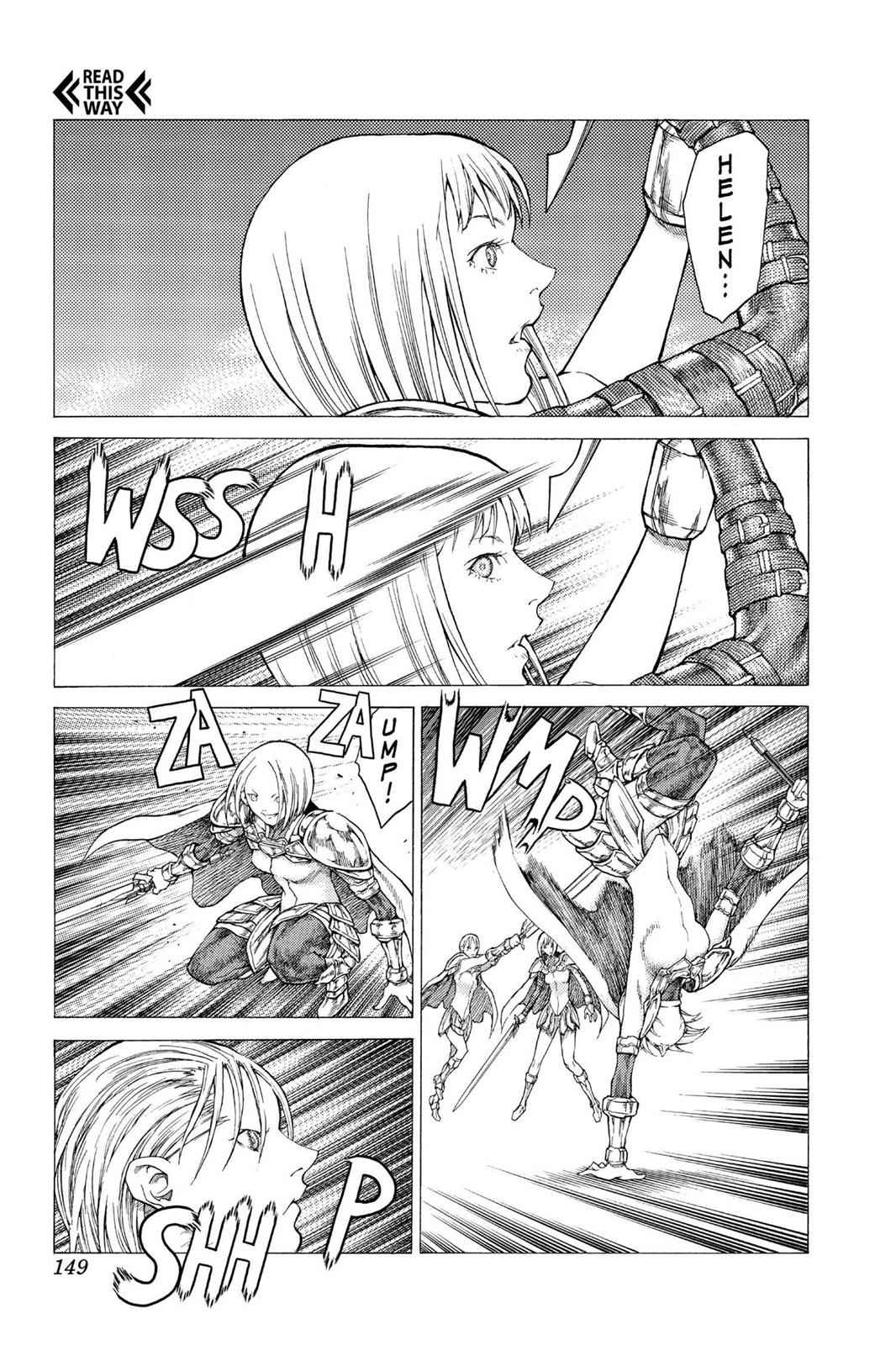 Claymore Chapter 50 Page 21