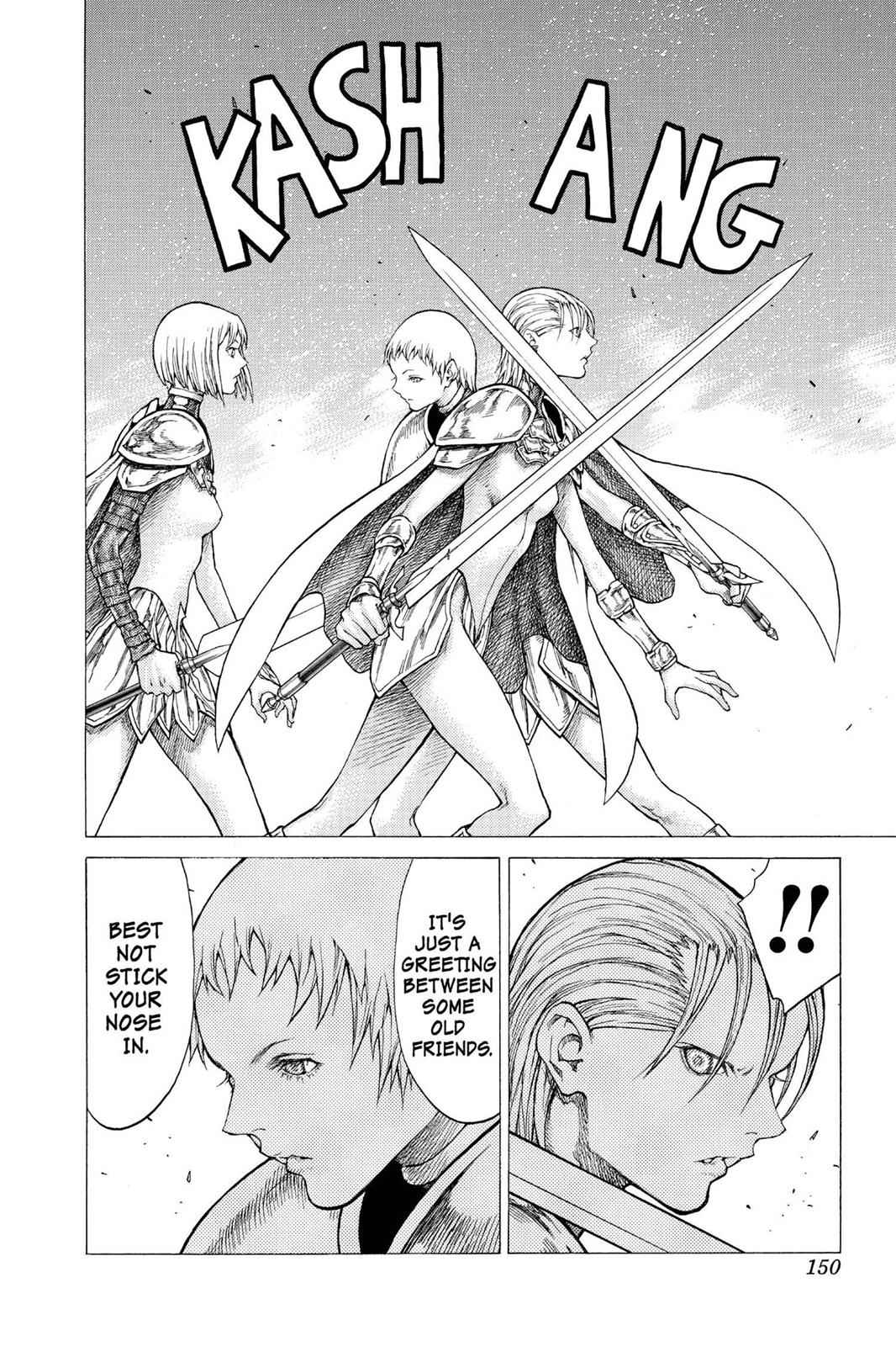 Claymore Chapter 50 Page 22