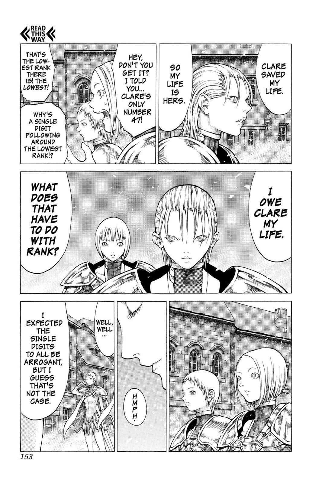 Claymore Chapter 50 Page 25