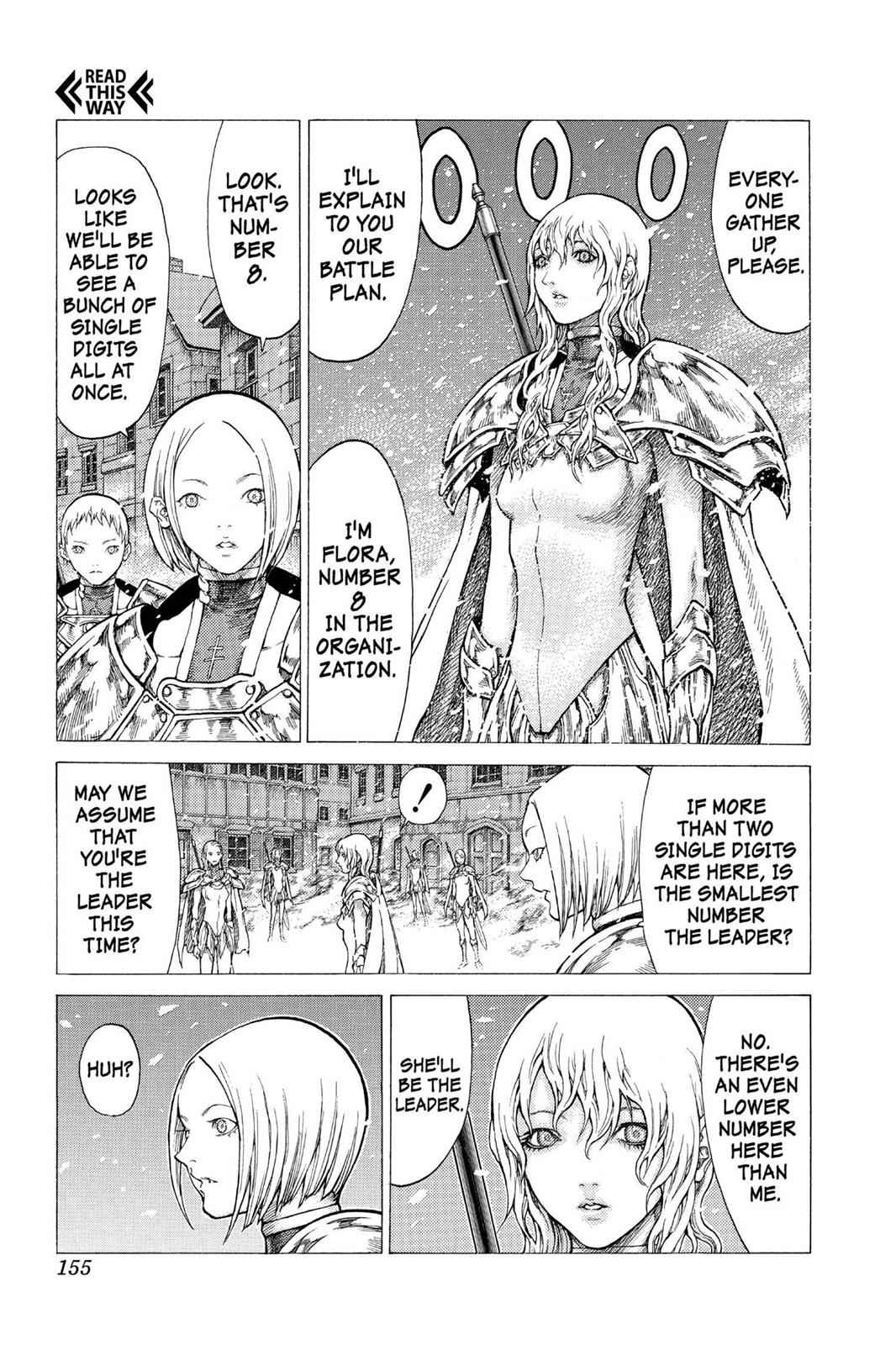 Claymore Chapter 50 Page 27