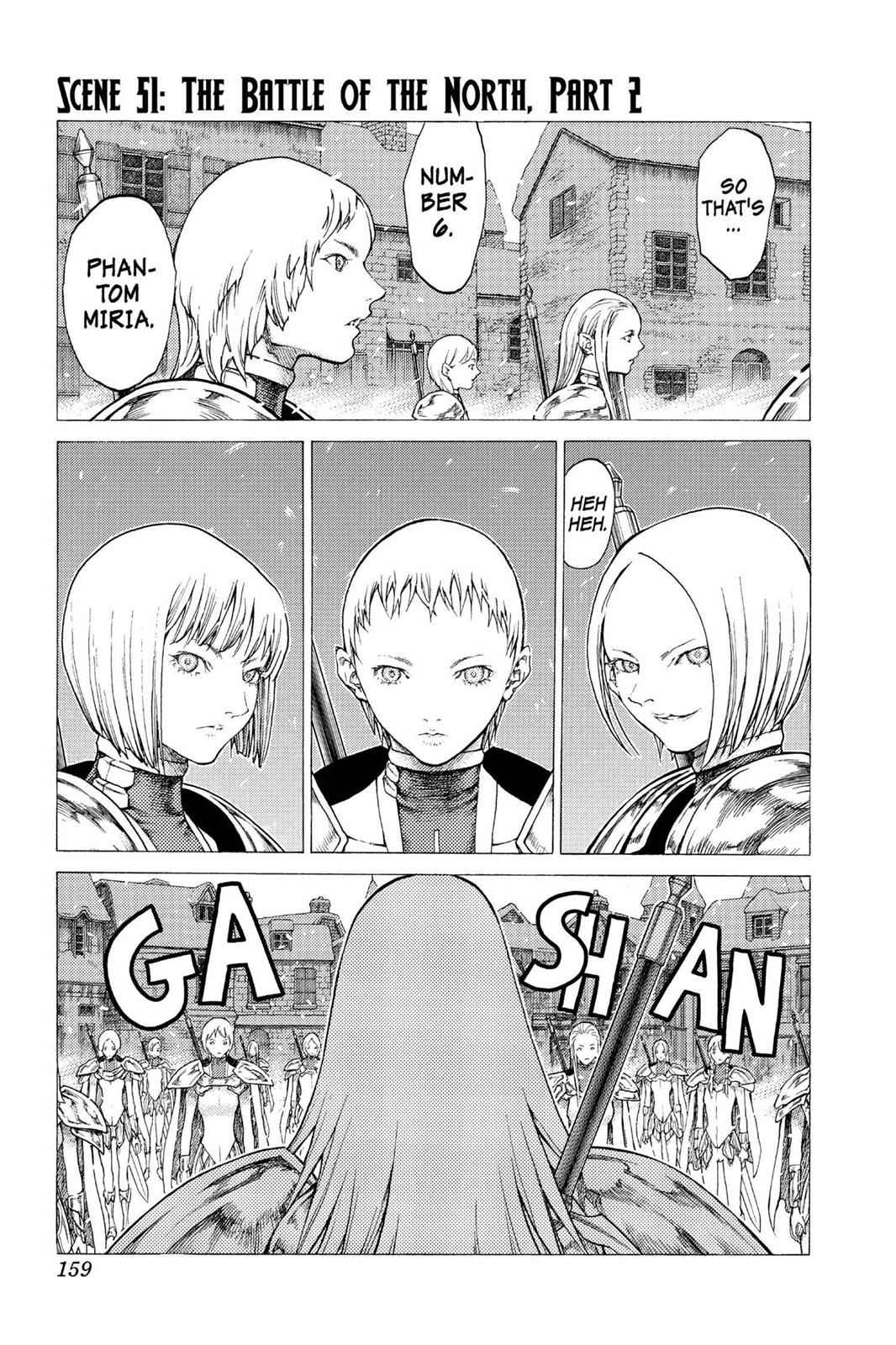 Claymore Chapter 51 Page 1