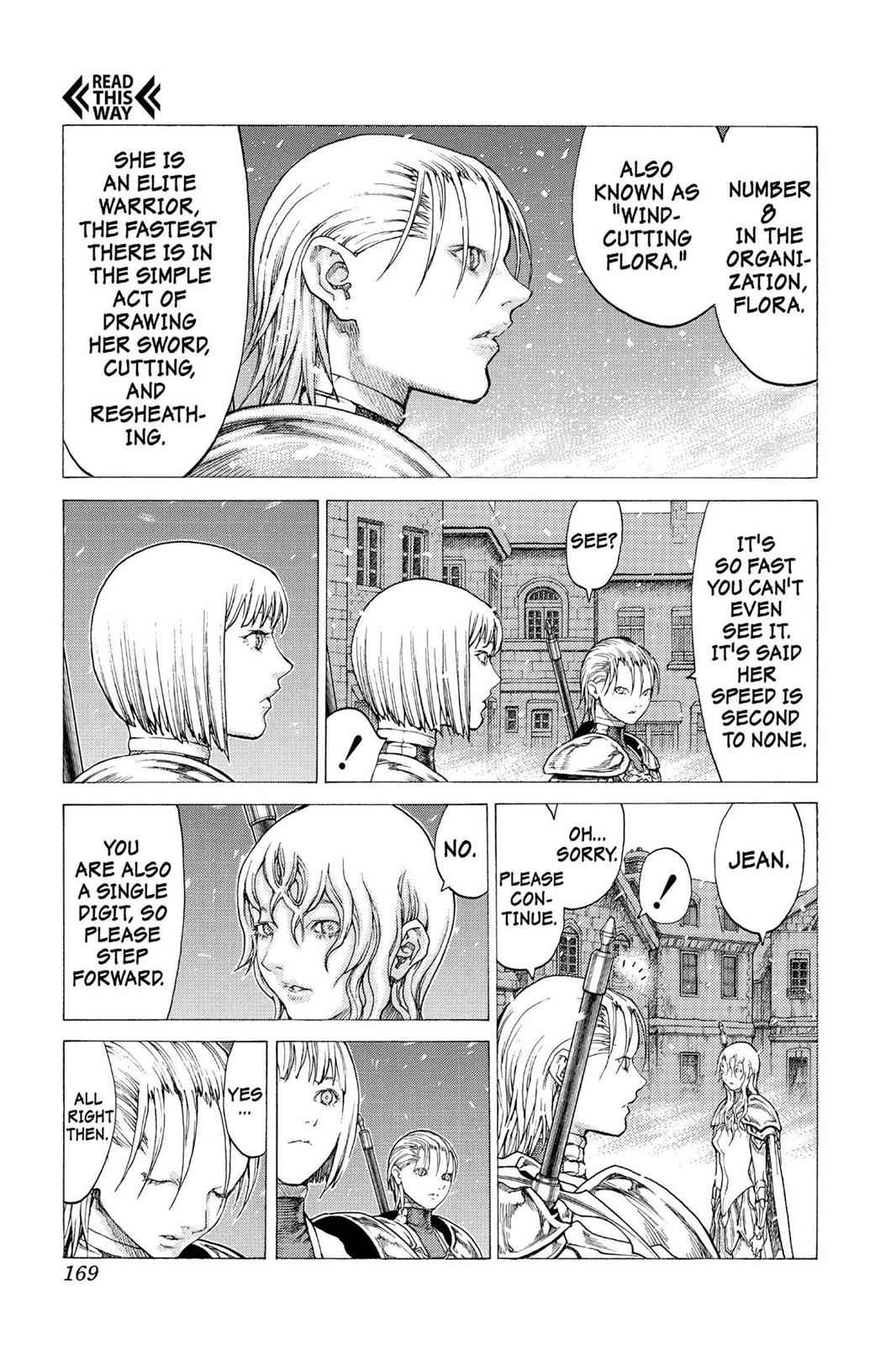 Claymore Chapter 51 Page 11