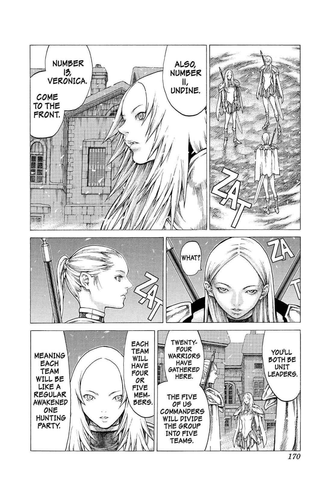 Claymore Chapter 51 Page 12