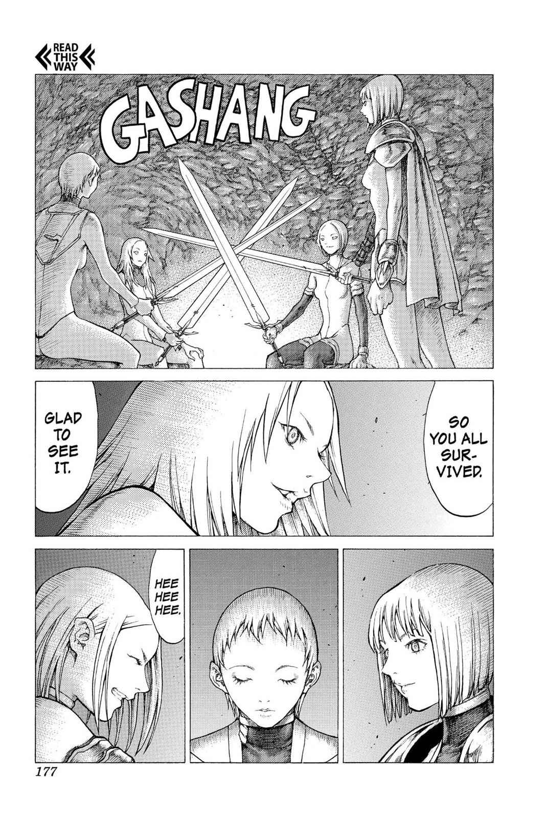 Claymore Chapter 51 Page 19