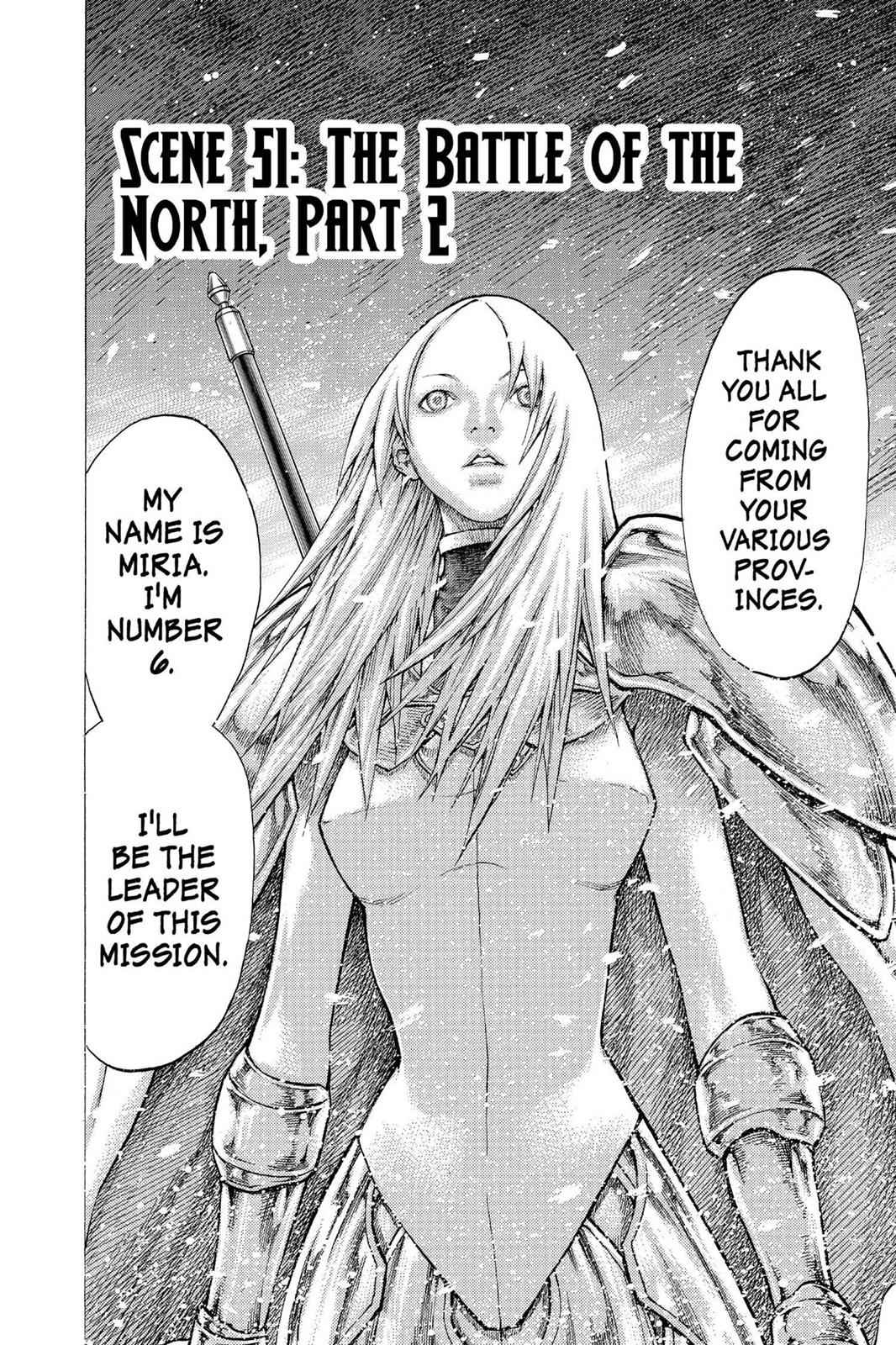 Claymore Chapter 51 Page 2