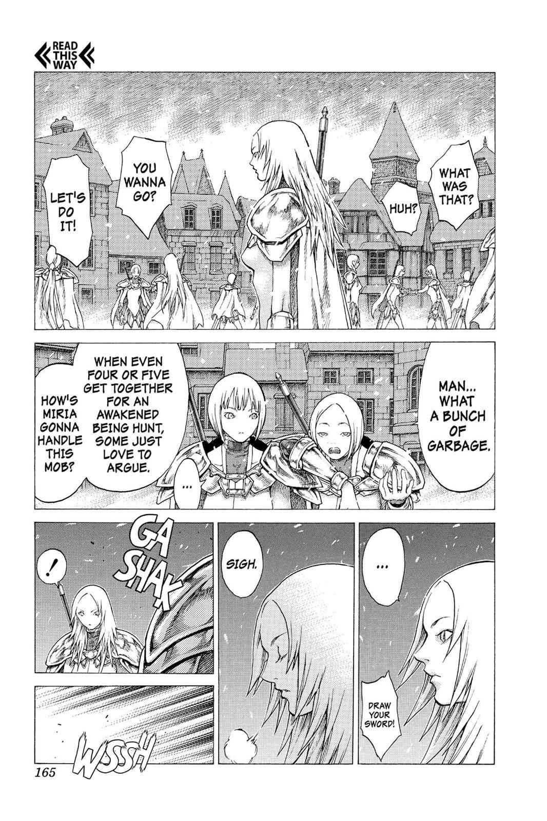 Claymore Chapter 51 Page 7
