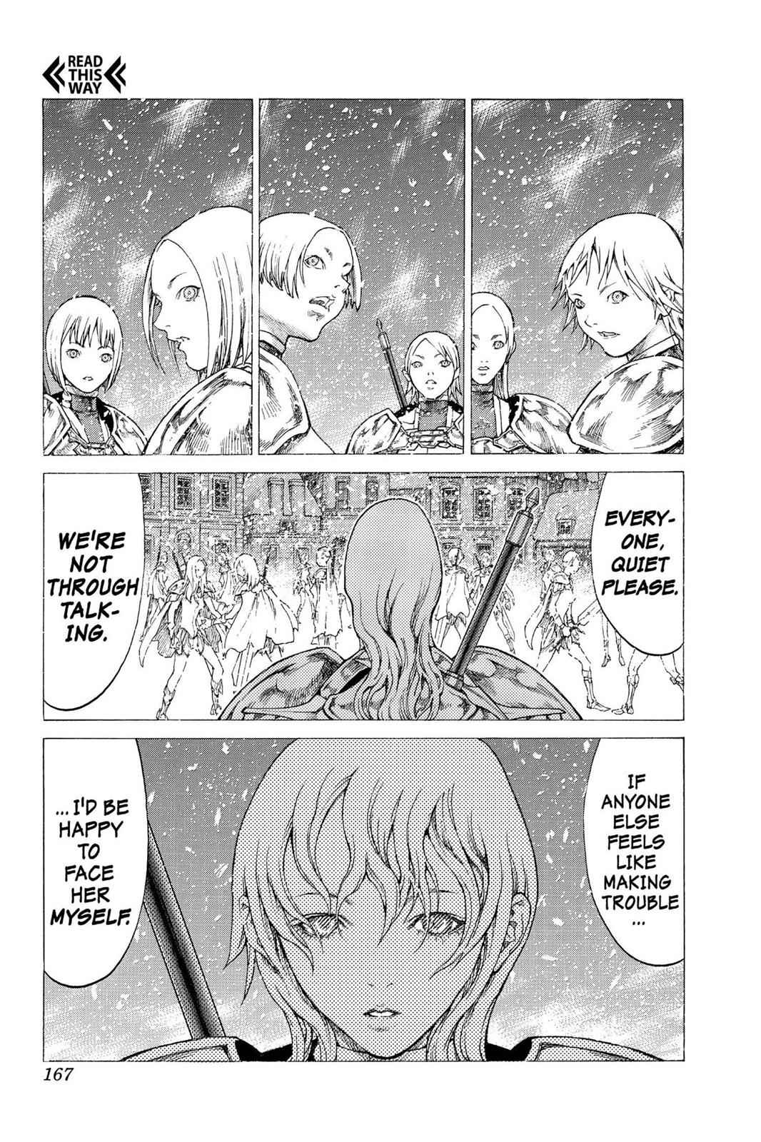 Claymore Chapter 51 Page 9