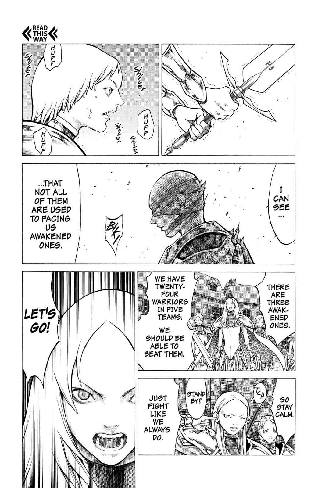 Claymore Chapter 52 Page 18