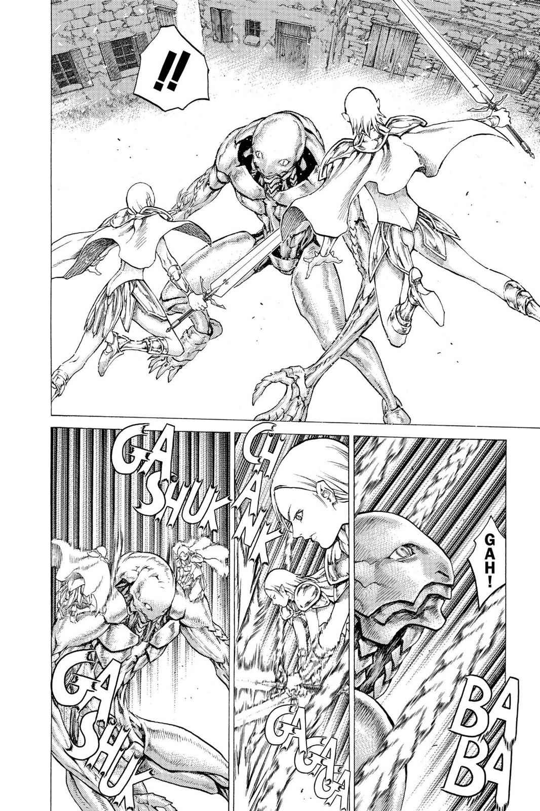 Claymore Chapter 52 Page 20