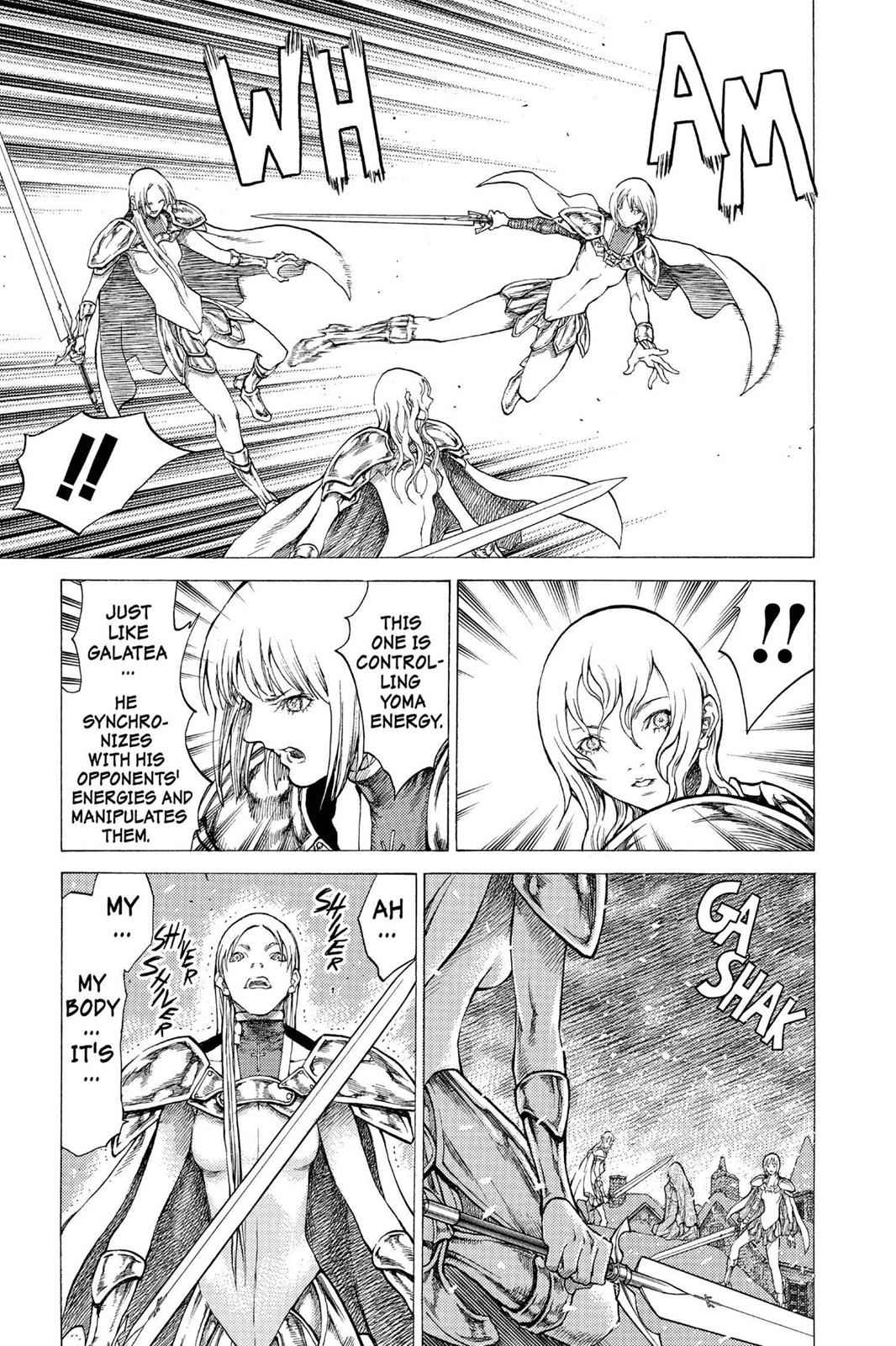 Claymore Chapter 52 Page 25