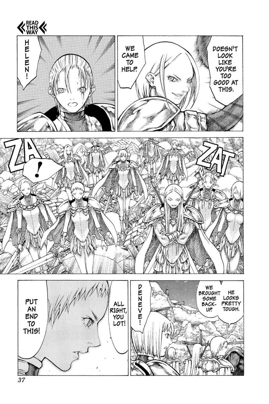 Claymore Chapter 52 Page 35