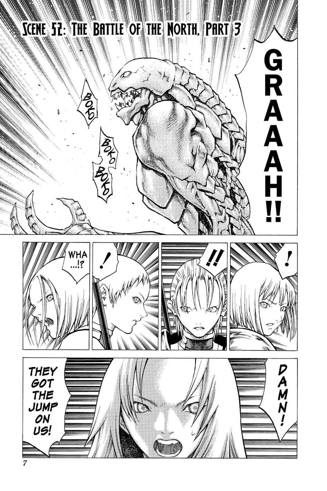 Claymore Chapter 52 Page 7